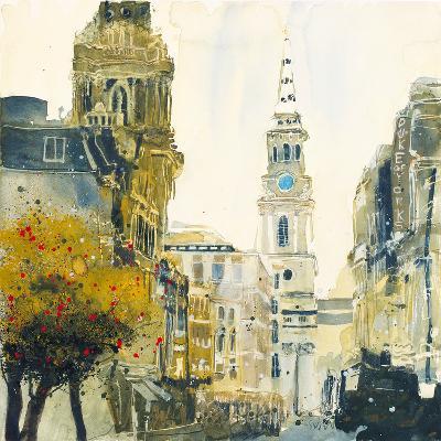St. Martin's Lane, London-Susan Brown-Giclee Print
