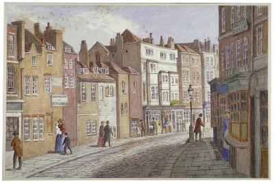 St Martin's Lane, Westminster, London, C1865-JT Wilson-Giclee Print