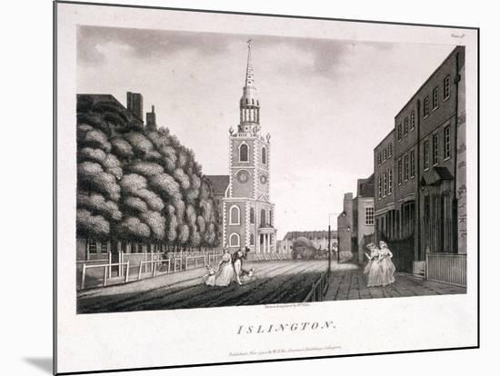 St Mary, Islington, London, 1792-William Ellis-Mounted Giclee Print