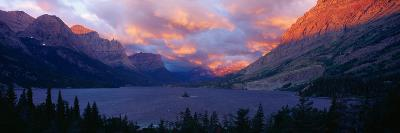 St. Mary Lake, Glacier National Park, Montana--Photographic Print