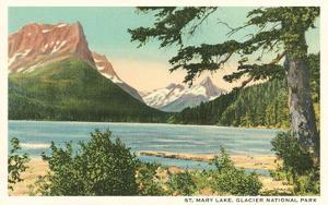 St. Mary Lake, Glacier Park, Montana