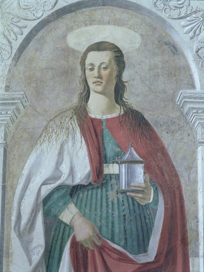 St. Mary Magdalene, 1466 (Detail)-Piero della Francesca-Giclee Print