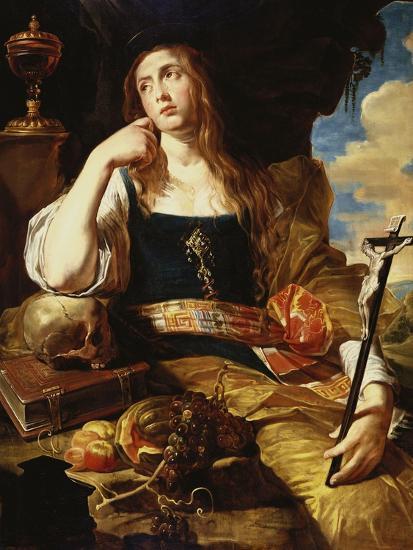 St Mary Magdalene-Abraham Janssens-Giclee Print