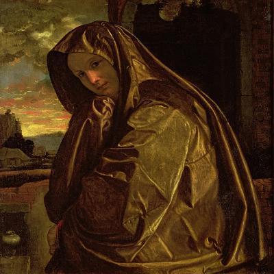 St. Mary Magdalene-Giovanni Girolamo Savoldo-Giclee Print