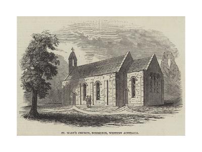 St Mary's Church, Busselton, Western Australia--Giclee Print