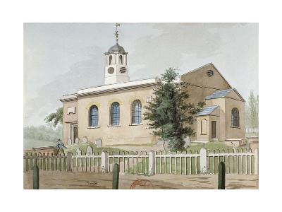 St Mary's Church, Hanwell, Middlesex, C1800--Giclee Print