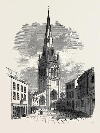 St. Mary's Church, Newark--Giclee Print