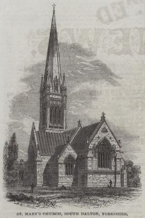 St Mary's Church, South Dalton, Yorkshire--Giclee Print