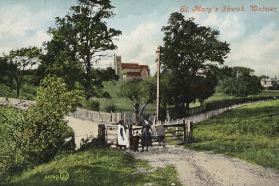 St. Mary's Church, Walmer--Photographic Print