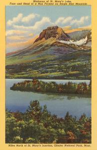 St. Mary's Lake, Glacier Park, Montana