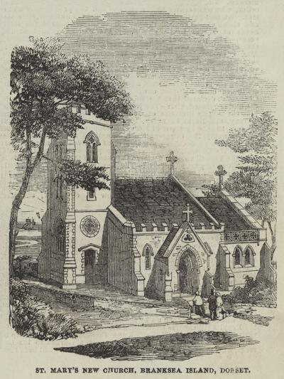 St Mary's New Church, Branksea Island, Dorset--Giclee Print