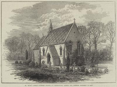 St Mary's Roman Catholic Chapel at Chiselhurst, Where the Emperor Napoleon Is Laid--Giclee Print