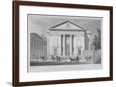 St Mary's Roman Catholic Church, Moorfields, City of London, 1827-Thomas Barber-Framed Giclee Print