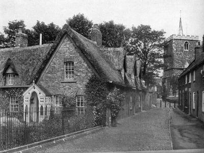 St Mary's Square, Horncastle, Lincolnshire, 1924-1926-Valentine & Sons-Giclee Print