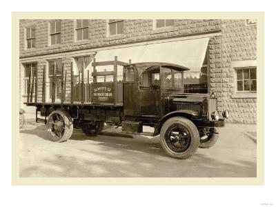 St. Mary's Truck--Art Print
