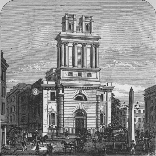 'St. Mary Woolnoth', 1890-Unknown-Giclee Print