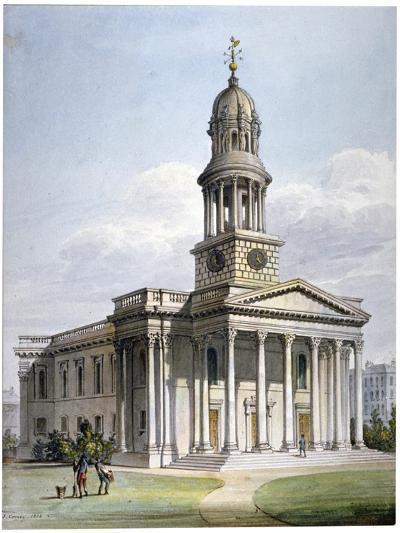 St Marylebone New Church, London, 1816-John Coney-Giclee Print