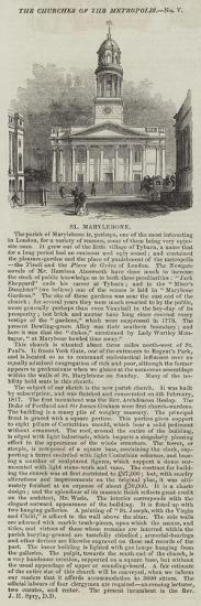 St Marylebone--Giclee Print