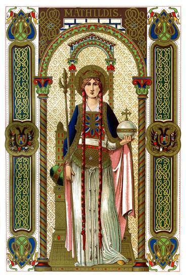 St Mathilda, 1886--Giclee Print