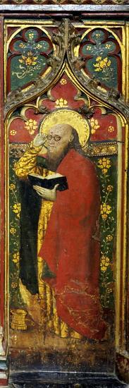 St. Matthew, Detail of the Rood Screen, St. Agnes Church, Cawston, Norfolk, Uk--Giclee Print