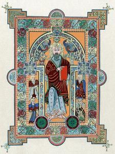 St Matthew from the Book of Kells, C800