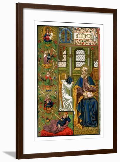 St Matthew the Evangelist, 1886--Framed Giclee Print