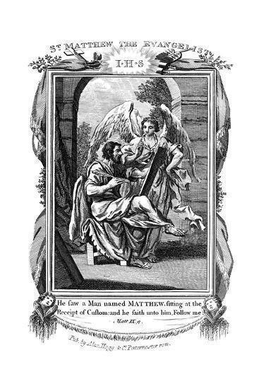 St Matthew the Evangelist, C1808--Giclee Print