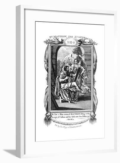 St Matthew the Evangelist, C1808--Framed Giclee Print