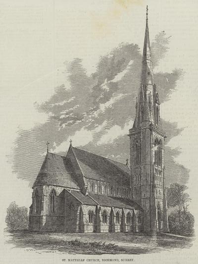 St Matthias' Church, Richmond, Surrey--Giclee Print