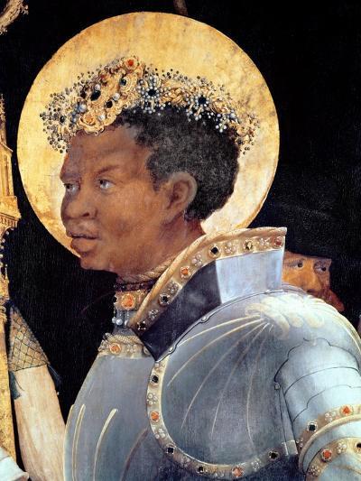 St. Maurice (Detail)-Matthias Gr?newald-Giclee Print