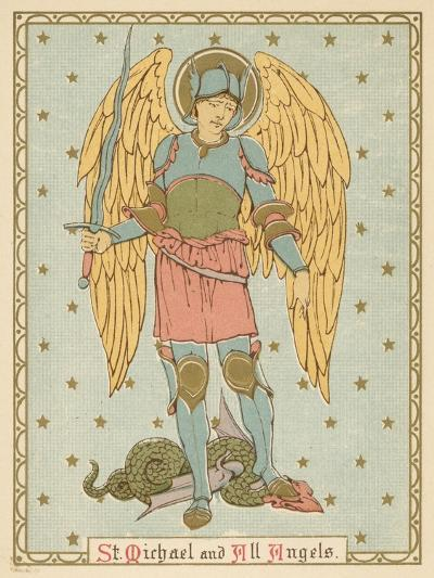 St Michael and All Angels-English School-Giclee Print