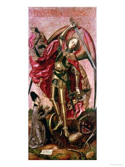 St. Michael and the Dragon- Bermejo-Giclee Print