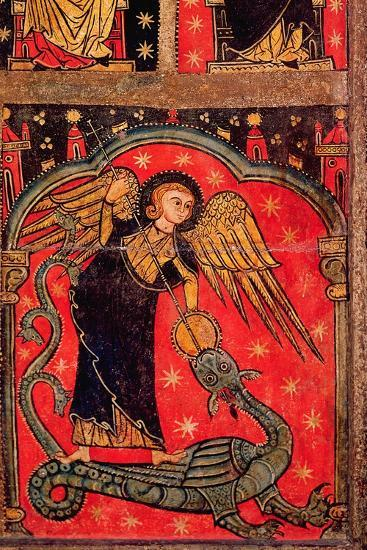 St. Michael Fighting the Dragon--Giclee Print
