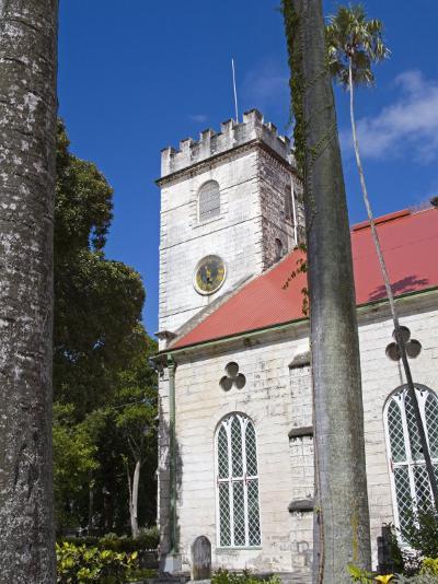 St. Michael's Cathedral, Bridgetown, Barbados, West Indies, Caribbean, Central America-Richard Cummins-Photographic Print