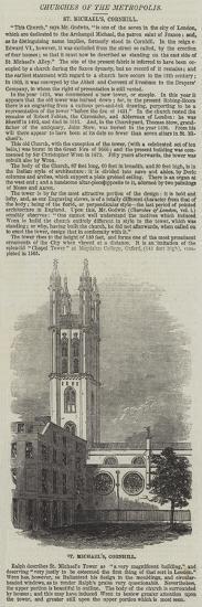 St Michael'S, Cornhill--Giclee Print