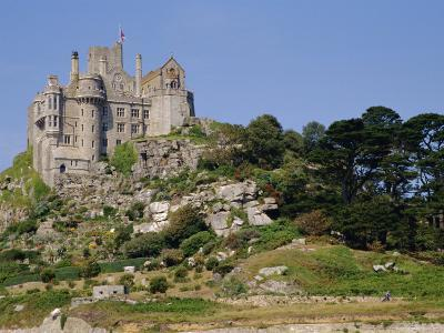 St. Michael's Mount, Castle, Cornwall, England, UK-Ken Gillham-Photographic Print