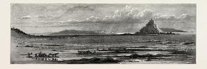St. Michael's Mount, Cornwall, the South Coast, UK, 19th Century