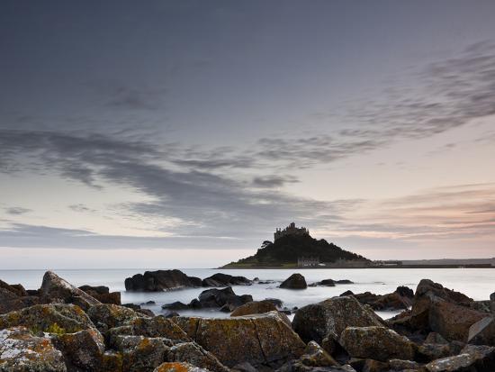 St. Michael's Mount, Marazion, Cornwall, England, United Kingdom, Europe-Julian Elliott-Photographic Print