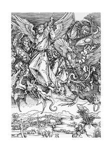 St. Michael Slaying the Dragon by Albrecht Durer