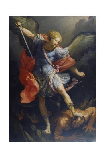 St. Michael the Archangel-Reni Guido-Giclee Print