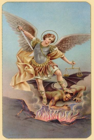 St Michael--Giclee Print
