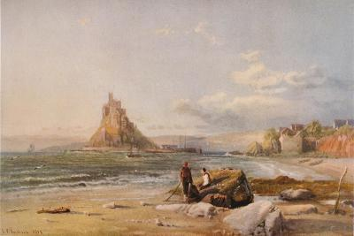 St. Michaels Mount, Cornwall, 1878-Samuel Phillips Jackson-Giclee Print