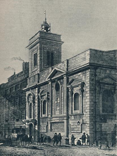 'St. Mildred's Church, and the Poultry', 1907-Unknown-Giclee Print