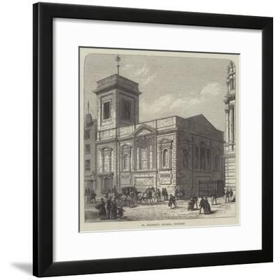 St Mildred's Church, Poultry-Frank Watkins-Framed Giclee Print