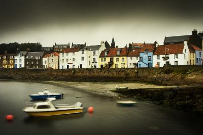 St. Monans Harbour, East Neuk of Fife, in a Storm, Scotland, United Kingdom, Europe-Craig Easton-Photographic Print