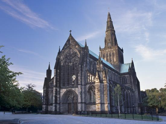 St. mungo cathedral dating from the 15th century glasgow scotland
