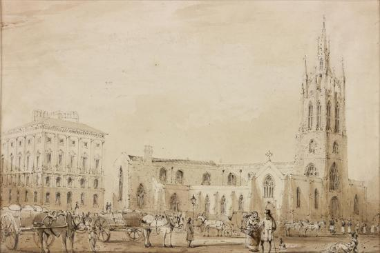 St Nicholas' Cathedral-C. W. Clennell-Giclee Print