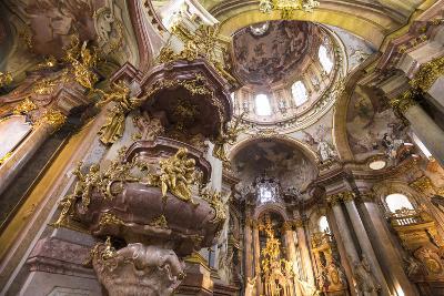 St. Nicholas Church, Mala Strana (Little Quarter), Prague, Czech Republic-Jon Arnold-Photographic Print