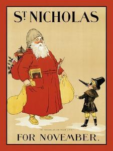 "St. Nicholas For November. ""St Nicholas Or Your Life!"""
