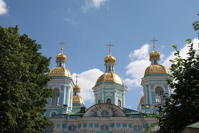 St Nicholas Naval Cathedral, St Petersburg, Russia, 2011-Sheldon Marshall-Photographic Print